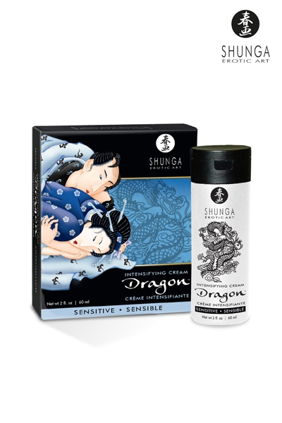 Crème de virilité du dragon sensible - Shunga