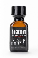 Poppers Amsterdam Black  label 24ml